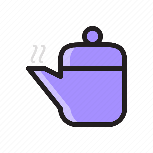 food, hot, kettle, tea, teakettle, teapot icon icon