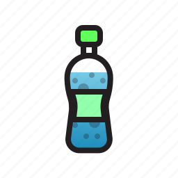 bottle, clean, drink, food, water icon