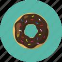 cake, dessert, donut, doughnut, food, snack icon