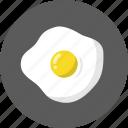 breakfast, food, fried egg, egg