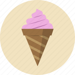 dessert, food, icecream icon