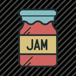 jam, kitchen, sweet icon
