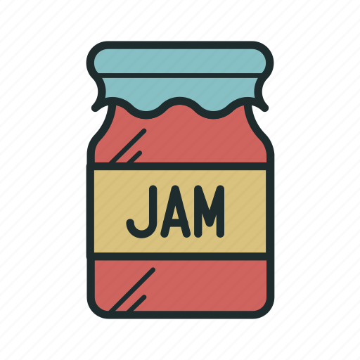 jam, kitchen, sweet icon