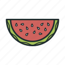 food, fruit, sweet, watermelon