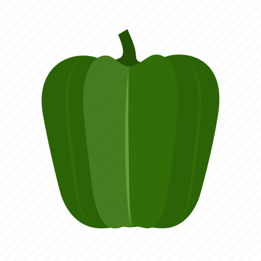 capsicum, food, green, healthy, red, sweet, vegetable icon