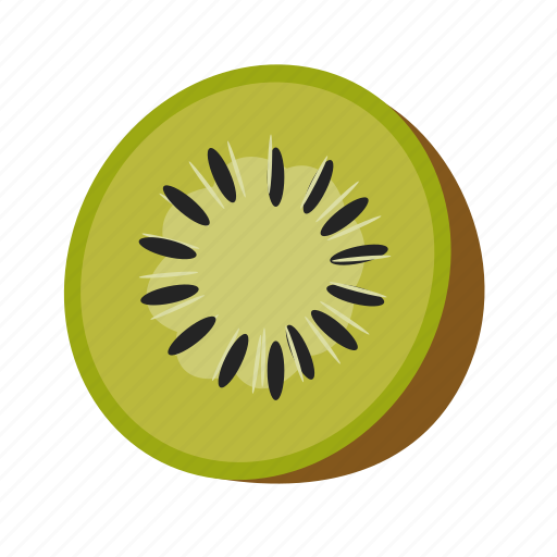 color, food, fruit, green, juicy, kiwi, nature icon