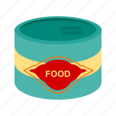 canned, food, fast food, preserver