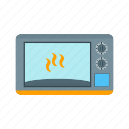 cooking, electric, heat, kitchen, oven, stove icon