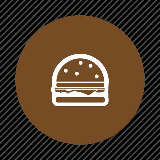 burger, chesse, food, hamburger, vegetables icon