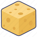 cheese, cooking, food icon