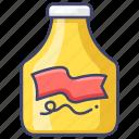 food, mustard, sauce