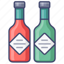 chili, oil, pepper, sauce icon