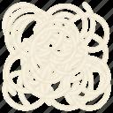 baked bread dough and flour bread, german bread, german cuisine, pretzel