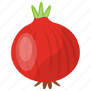 cooking vegetable, main course vegetable, onion, red onion, vegetable icon