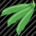 green vegetable, healthy diet, legume, peas, vegetable
