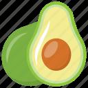 avocado, butter fruit, healthy fruit, peer, sweet fruit icon