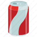 beverage, cold drink, soda drink, tin drink, tin pack icon