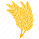 cereal grain, food, grain, wheat, wheat flour, whole wheat icon