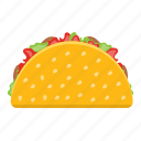mexican sandwich, rolls, sandwich, taco wrap, tortilla wrap icon