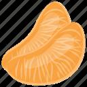 citrus, orange pulp, orange slices, pulpy orange, tangerine