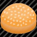 almond cake, baked cake, birthday cake, pancake, sweet dessert icon