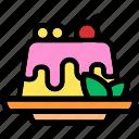 pudding, sweet, cake, food, dessert, tasty, snack