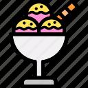 ice, cream, sweet, dessert, cup