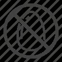 egg, free, no, without icon