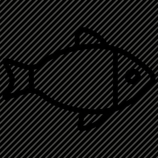 fish, food, restaurant, sea food, seafood icon