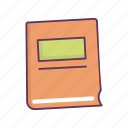book, cooking, food, menu, notebook icon