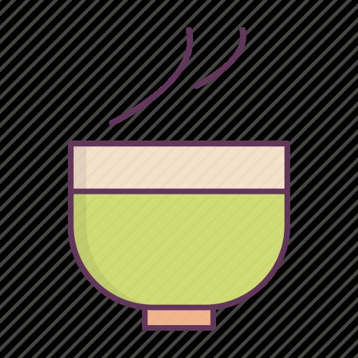 bowl, dinner, food, liquid, plate icon