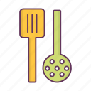 cook, cooking, food, kitchen, scoop icon