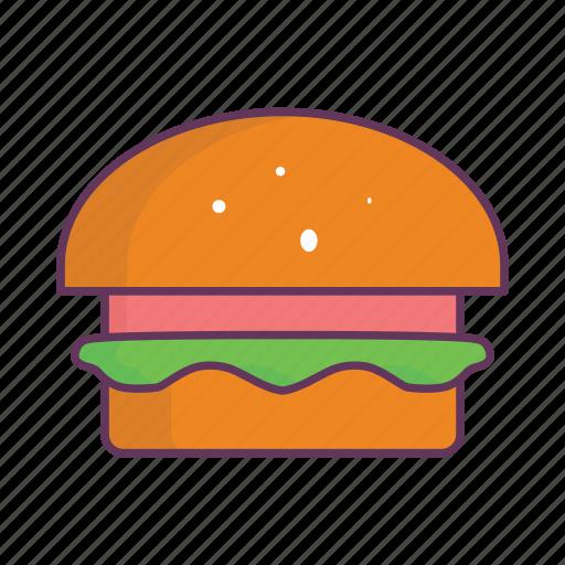 burger, cheeseburger, fast, food icon