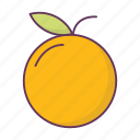 breakfast, cooking, food, orange icon