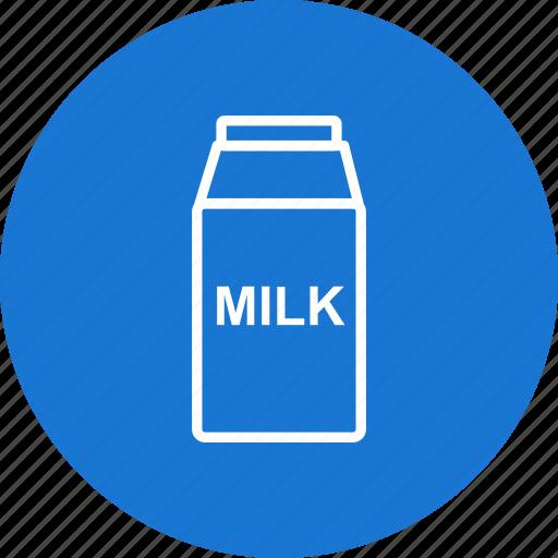 breakfast, drink, food, healthy, kitchen, liquid, milk icon