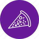 piece, pizza, slice icon
