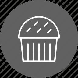 cake, cup cake, cupcake, muffin icon