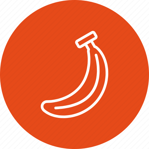banana, fruit, healthy icon