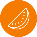 food, fruit, healthy, juicy, summer, watermelon icon