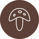 fungi, mushroom, mushroom plant icon