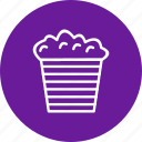 corn, fast food, popcorn icon