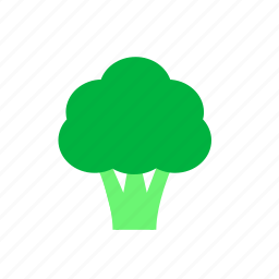 broccoli, healthy, vegetable icon