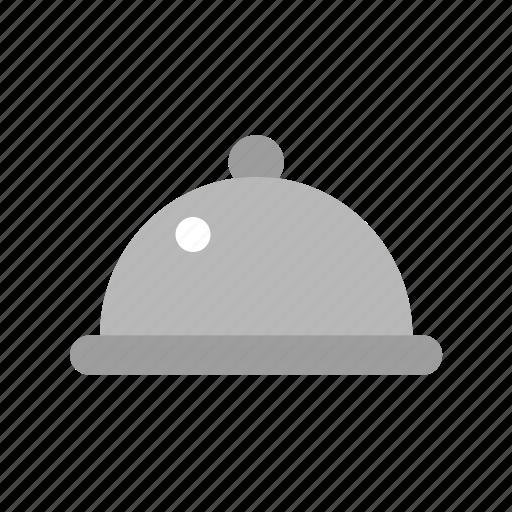 cloche, kitchen, restaurant, serve, service icon