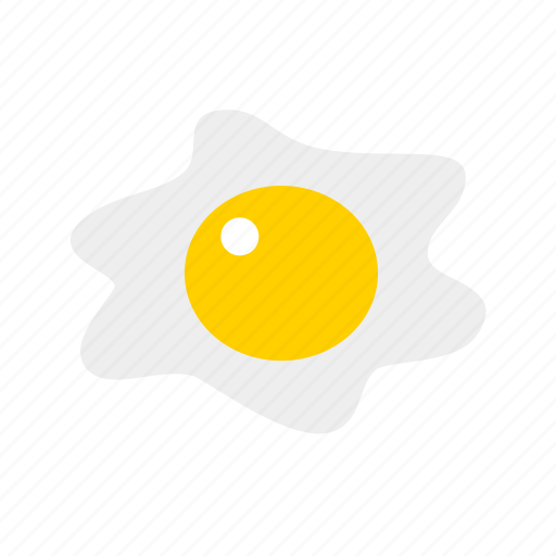 breakfast, egg, fried egg, protein, yolk icon