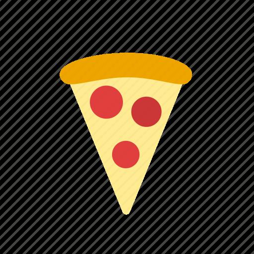 italian food, junk food, pepperoni, pizza icon