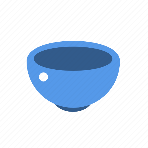 bowl, container, soup icon