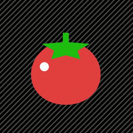 fruit, healthy food, red, tomato, vegan, vegetable, vegetarian icon