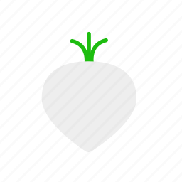food, turnip, vegetable icon