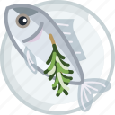 cooking, fish, food, meat, sea, tuna, yumminky icon