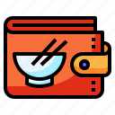 bag, money, payment, shopping, wallet icon